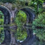 """Bridge at Yorkshire Sculpture Park"" by markahwood"