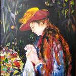 """Renoir Reprod. Marie-Therese Durand"" by arlen"