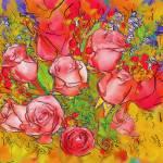 """Astral Antique Bouquet"" by petersart"