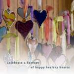 """celebrate a harvest of happy healthy hearts"" by janith_johnson"