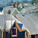 """""""Rooftops on a Snowday"""" by kcam"""