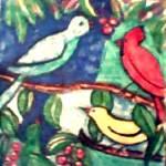 """birds on a tree"" by katiegab715"