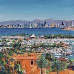 """San Diego Skyline From Point Loma"" by BeaconArtWorksCorporation"