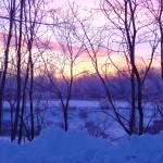 """Winter Sunrise"" by AdirondackPhotoDesigns"