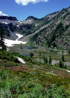 Bagley Lakes at Mount Baker