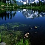 """Mount Shuksan at Picture Lake #2"" by ketchemr"
