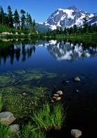 Mount Shuksan at Picture Lake #2