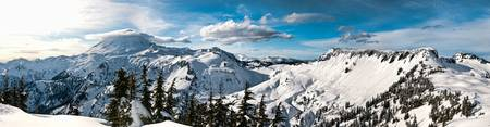 Mount Baker, Table Mountain, Panorama