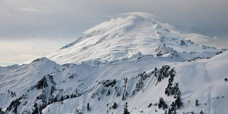 Mount Baker Snowscape