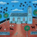 """""""caribbean church"""" by AmandaWhite"""
