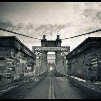 Roebling Bridge Art Prints & Posters by Justin Rumao