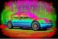 Textured Technicolor Volkswagen Jetta