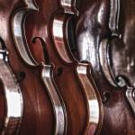 """Violins in Music Store Repair Shop Dayton"" by jimcrotty"