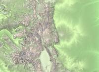 State of Colorado shaded relief
