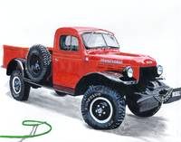 Antique Power Wagon Truck
