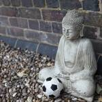 """Buddha and the Contemplation of a Football"" by Gerard"