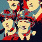 """Obama The Beatles Fab Four"" by finalscore"