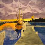 """""""Tall Ships at Harbor"""" by wallibone"""