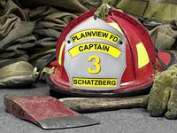 Plainview Fire Department Captain Schatzberg