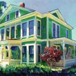 """Burton House by RD Riccoboni"" by BeaconArtWorksCorporation"