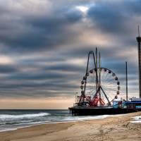 Seaside Heights 1 Art Prints & Posters by electrochris