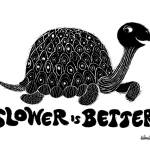 """Slower is Better (B&W)"" by WinnieFitch"