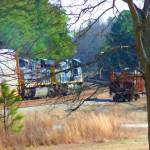 """CSX sidetracked orphan"" by Pauljs"