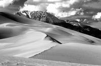 The Great Sand Dunes Colorado BW Print