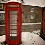 """Lonely Telephone Box"" by nicolaus"