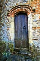 Ancient Church Door A12