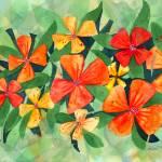 """Tropical Flower Splash"" by foxvox"