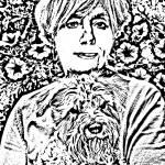 """""""Judy&Franky Linoleum"""" by Kimeldorf"""