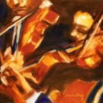 """Violinists"" by dornberg"