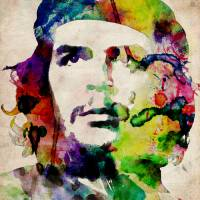"""Che Guevara Urban Art"" by ModernArtPrints"