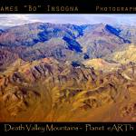 """Death Valley Mountain Range Planet eARTh"" by lightningman"