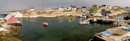Peggy's Cove town