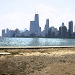 """Lake Michigan View of Chicago"" by spreadtheart"