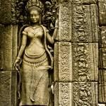 """Stone Apsara"" by visionsofbrahma"