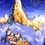"""Dacass. A Mountain Dwelling"" by Linandara"
