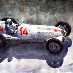"""Mercedes Benz W125 1937 Swiss Gp R Caracciola"" by shevchukart"