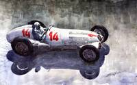 Mercedes Benz W125 1937 Swiss Gp R Caracciola