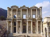 Ancient Library of Celsus in Ephesus Turkey
