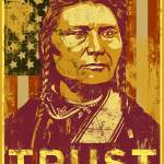 """Trust Government Distressed Poster 3"" by libertymaniacs"