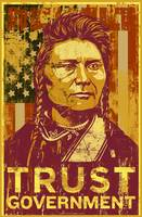 Trust Government Distressed Poster 3