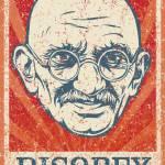 """Mahatma Gandhi"" by libertymaniacs"