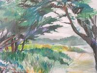 Carmel Beach plein air