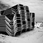 """Strandstoelen / Beach Chairs"" by breeblebox"