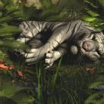 """Tiger Nap"" by krypticeye"