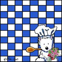 Spoons & Flowers Westie Chef