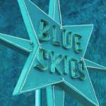 """BLUE SKIES AHEAD - VINTAGE NEON SIGN"" by lisaweedn"